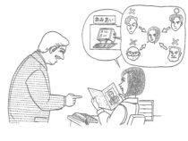 Bài 43 : やきしそうですね。 ( Trông có vẻ hiền lành nhỉ? )